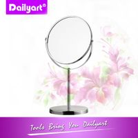 Classic Desk top Chrome Plating Make up Mirror