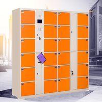 Luoyang steel locker smart storage metal locker face recognition system locker thumbnail image