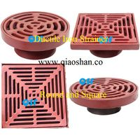 Round and Square Ductile Iron Roof Drain and Floor Drain Strainer