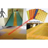 PVC/TPU Plastic Blind Tracks Brick, Rubber Blind Brick