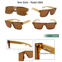 Plastic custom bamboo sun glasses fashion wood sunglasses FDA factory manufacturer wooden sunglasses