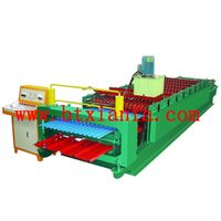 Double-deck Sheet Metal Roll Forming Machine