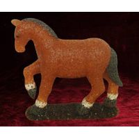 EVA&LED decorative ligts,Brown horse Table Lamp