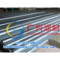 SS304,aperture0.5mm,wire wrap water well screen pipe (manufacturer) thumbnail image