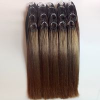 Cotton Thread Hair Indian hair Tip hair extensions Manufacturers wholesale