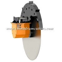 Excavator rock saws, rock cutters