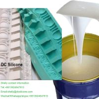 Delicate Pattern Gypsum Products Mold RTV2 Silicone Rubber For Complex Craft Casting Mold