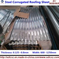 Steel Corruagted Roofing Sheet / Plate ( 0.14--1.3mm)