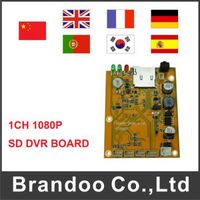 1 channel 1080P SD DVR Module