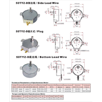 motor for microwave oven