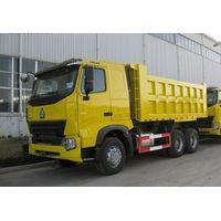 China HOWO A7 6x4 tipper truck