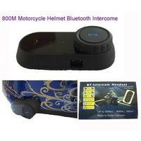 800M motorcycle intercom bluetooth helmet kits thumbnail image