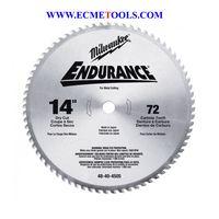 Milwaukee Metal Cutting Cold Cut Tooth Blade 14inType WLP48 40 4505 thumbnail image