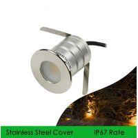 3W LED Underground Light Recessed Staircase Light DC12V DC24V Ceiling Downlight Wall Showcase Light thumbnail image