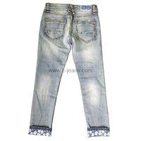 Indigo Blue Fashion Men's Straight Jeans thumbnail image