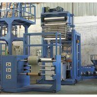 PVC heat shrinkable film blowing machine