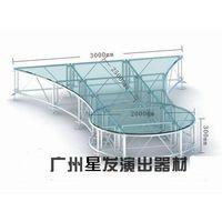 outdoor stage platform, aluminum stage platform, folding stage platform thumbnail image