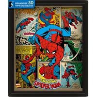 Marvel Retro Movie Lenticular Poster Printing 3D Effect Printing