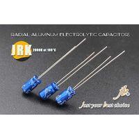 JRK-miniature Aluminum electrolytic capacitors THT type