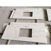 China Aritificial Quartz Stone Slab for Bathroom Vanity Top