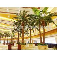 high quality outdoor all kinds big artificial palm tree cheap fake fiberglass palm tree square tree
