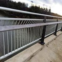 Durable Hot-dip Galvanized Parapet Handrail Balustrades for Transportation Construction