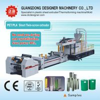 Twin Screw PET Sheet Extrusion Line