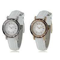 Leather Fashion Watch, high quality , 3/5ATM water resistant