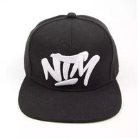 Low Price Snapback hat with Custom Embroidery