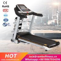 "10.1""/14.1""Color Screen Multi-Functional with Ascension Treadmill Commercial Treadmill RB-A8C-AC"