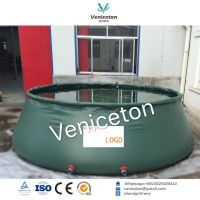 polyethylene fishing onion shape large volume water tank