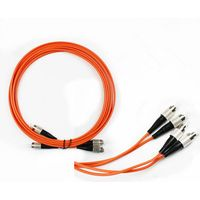 Multi mode FC-FC(PC/UPC) patch cord(duplex)