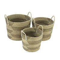 Seagrass storage baskets thumbnail image