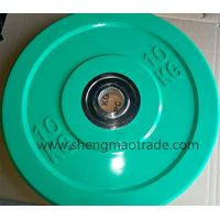 olympic weight lifting rubber barbell plate