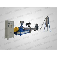 Engineering material single-stage plastic modified granulator