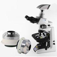 0.35X 0.55X Microscope Camera Adapter C mount Adapter for Nikon Trinocular Microscope thumbnail image