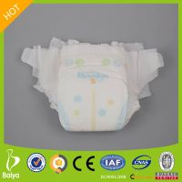GNXL18 0.2cm Slim Ultra Thin Non Woven Cheapest Baby Diapers from China Factory