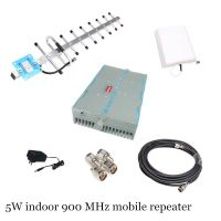 Profession high power 5W high gain 85dB indoor 2g gsm 900 MHz mobile signal repeater booster amplifi