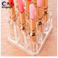Wholesale customize clear acrylic lipstick organizer rack