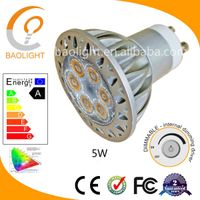 5W dimmable gu10 led bulb,led downlight,spotlight
