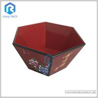 Bowl Shape Cardboard Display Stand For Brown Sugar Promotion thumbnail image