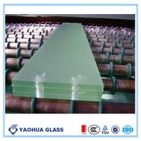 CE approved high quailty tempered laminated glass