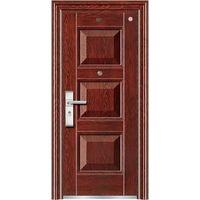 Security steel single door