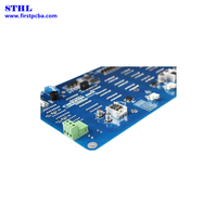 White color LED board pcba for prototype coaxial smb pulse copper with oem pcb board assembly factor thumbnail image