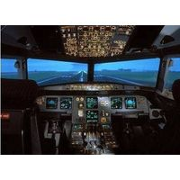Large Projection Screen for Flight Simulation (Fresnel Lens) thumbnail image