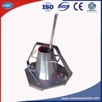 Stainless Steel Portable Concrete Slump Cone Testing Apparatus
