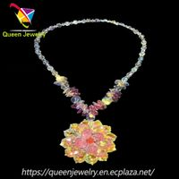 paparazzi jewelry reviews fashion Handwork Wonderful crystal Bead Necklace