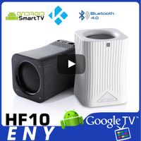 January CES SHOW Popularity Product ENYBOX HF10 S905X Android TV Box Bluetooth 4.0 Speaker Bluetooth