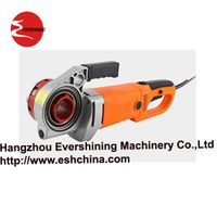 Electrical portable pipe threader