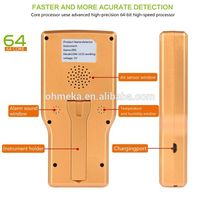 Portable carbon dioxide detector CO2 gas detector air quality monitor with temperature measurement